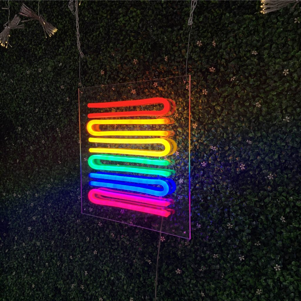 Pride Flag Led Neon Sign
