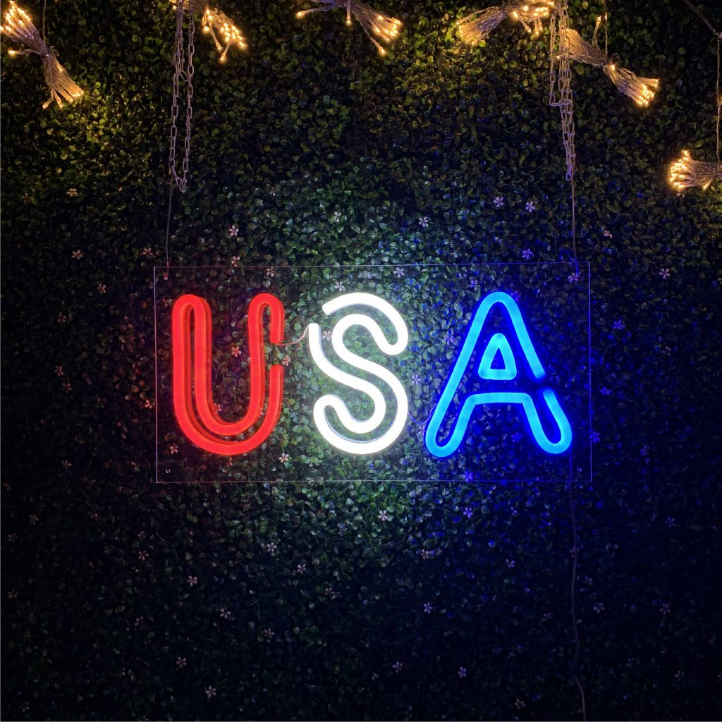 USA Led Neon Sign