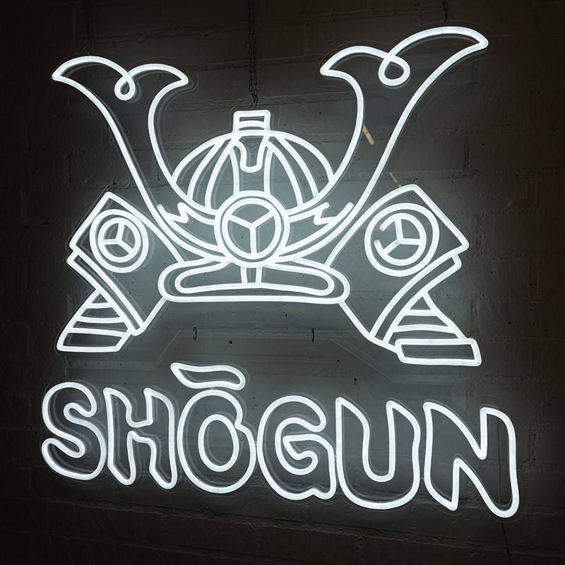 Shogun Neon Sign
